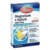 Abtei Magnesium + Kalium Depot Tabletten 30 stk