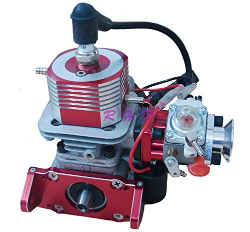 TOP_RC_PRO 26cc Seitenauspuff Marine Gas Motor für Rennboot ZENOAH CNC Wasserkühlung