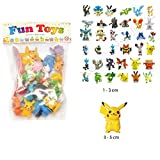 24pcs Pokemon mignon Mini figure 2-3cm Rendom jouets Monster Mini...