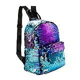 Best School Bags - Girls Sequins Backpack Glitter Bling School Travel Rucksack Review