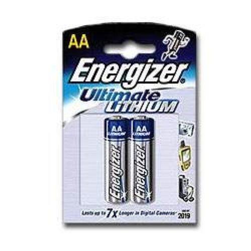 L91 Lithium Batterie AA 1,5 Volt, 3000mAh 2er Blister