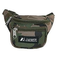 Everest Fabric Woodland Camouflage Small Pack, Woodland Camo