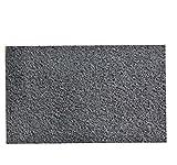 #7: KRAFTKIN GREY Door Mat . Pattern : Rubber Mat With Spikes.
