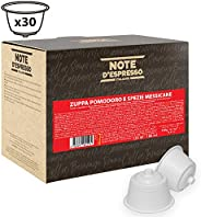 Note d'Espresso Tomato and Mexican Spices Capsules 14g x 30 Capsules Exclusively Compatible with Nescafé* and Dolce Gusto*