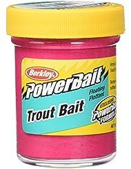 Berkley Powerbait - Atrayente de pesca, tamaño T Win Pack 50 g, color fluo red