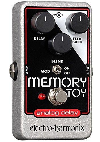 Electro Memory Toy Memory Toy Pedal - Pedal de efecto eco/delay/reverb para guitarra, color plateado