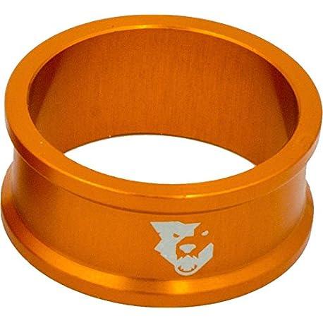 Lobo Diente Componentes Headset espaciador 5 unidades 15 mm color naranja