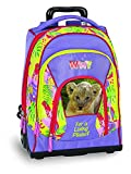 Zaino trolley WWF girl jungle 60346