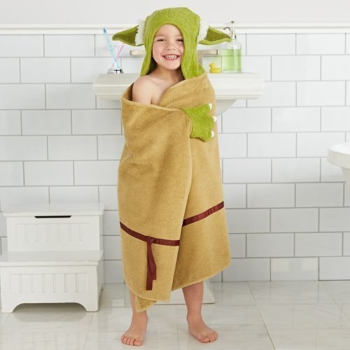 Yoda Hooded Bath Wrap
