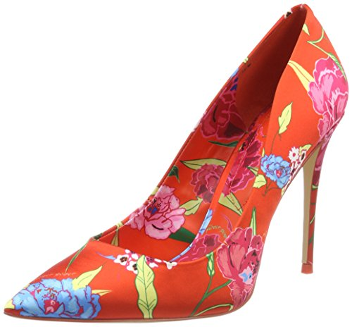 ALDO Damen Stessyf Pumps, Orange (Orange Bold Floral), 38 EU