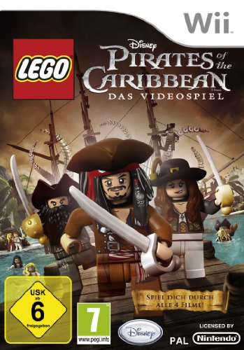 LEGO Pirates of the Caribbean [Software Pyramide] - [Nintendo Wii] Lego Piraten Spiel