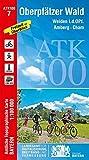 Oberpfälzer Wald 1 : 100 000 (ATK100 Amtliche Topographische Karte 1:100000 Bayern) - Ldbv Bayern