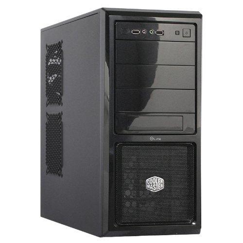 Cooler Master Elite 370 Case per PC 'ATX, microATX, USB 2.0, Pannello Laterale in maglia' RC-370-KKN1