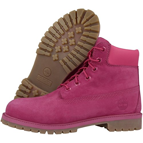 Timberland 6 In Classic Boot FTC_6 In Premium WP Boot 14749, Unisex-Kinder Stiefel pink (A14YQ)