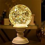 HAPPYMOOD Nacht Lampe Zeichenfolge Beleuchtung Anzeigen Fern Steuern Zeitliche Koordinierung Rahmen Romantisch Dekoration Fee LED zum Weihnachten Valentinstag Geschenk