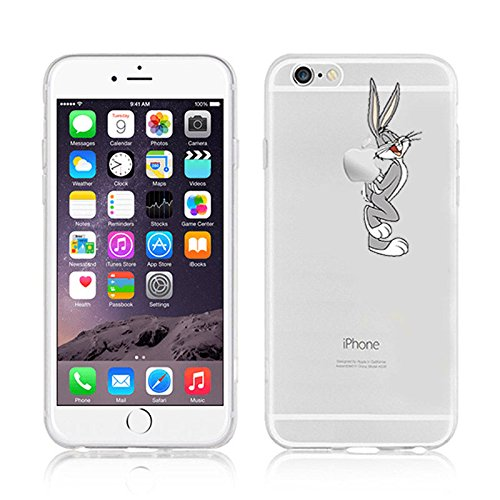 NEW DISNEY CARTOONS TRANSPARENT CLEAR TPU SOFT CASE FOR APPLE IPHONE 7 PLUS BUNNY 1 BUNNY