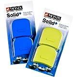 Monix Solid+ - Asas Silicona color pistacho aptas para toda la serie SOLID+