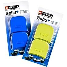 Monix Solid+ - Asas Silicona color azul aptas para toda la serie SOLID+