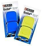 Monix Solid+ - Asas silicona, aptas para toda la serie Solid+, color azul