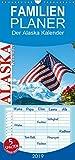 Der Alaska Kalender - Familienplaner hoch (Wandkalender 2019 , 21 cm x 45 cm, hoch): Ein Monatskalender mit 12 wunderschönen Fotos, aufgenommen in der ... (Monatskalender, 14 Seiten ) (CALVENDO Natur) - Max Steinwald