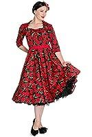 Hell Bunny Kleid POPPY 50'S DRESS 4401
