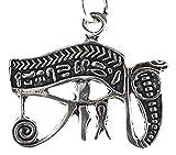 Kiss of Leather Anhänger Auge des Horus aus 925 Sterling Silber Nr. 370