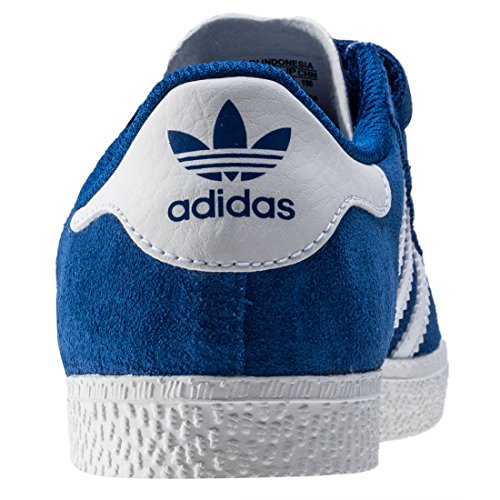 adidas Gazelle 2 Cf, Basses Mixte Enfant Royal White