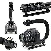 Vous êtes un chasseur d'images et vous souhaitez donner un rendu plus professionnel à vos vidéos ?DURAGADGET vous présente cette poignée stabilisatrice pour appareil photo, caméscope ou caméra sport.Vous ne pourrez plus vous passer de cet outil indis...