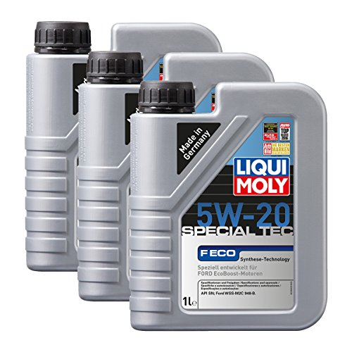 Preisvergleich Produktbild 3x LIQUI MOLY 3840 Special Tec F ECO 5W-20 Motoröl 1L