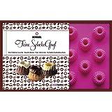 Feine SchokoGugl-Set: Verführerische Backideen für kleine Schokoladenkuchen. Buch mit Backform für 18 Gugl