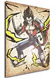 Instabuy Poster Dragon Ball Wanted Vegeta SS4 - A3 (42x30 cm)