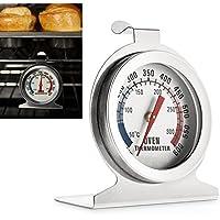 aveson Dial de acero inoxidable horno termómetro medidor de temperatura de vigilancia para hogar cocina–colgar o soporte en horno az0032