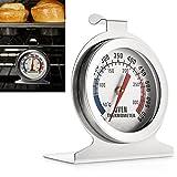 aveson Edelstahl Zifferblatt Ofen Thermometer Überwachung Temperatur für Home Kitchen–aufgehängt oder stehen in Ofen