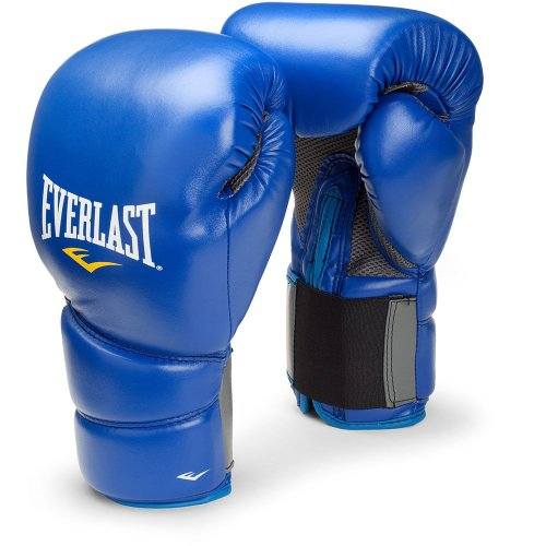 Everlast Protex 2 Training Boxing Gloves Blue - 14oz