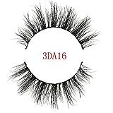 Pitashe 1 Paar Künstliche Wimpern 3D Falsche Wimpern Natürliche Ultra Dünn Wimpern Magnet Wimpern Magnetisch Schwarz Wimpern Sets Makeup Sets