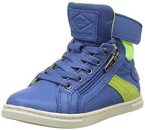 PLDM by Palladium Veleda Nca, Sneakers Hautes Mixte Enfant, Bleu