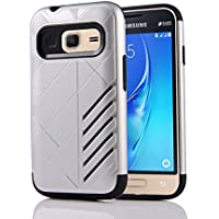 Samsung Galaxy J1 Mini Case, CASEFirst 2 en 1 Hybrid Combo Shockproof Full Body Coverage