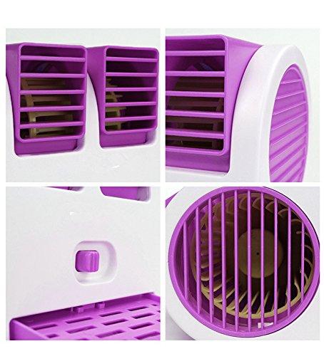 Biabacollection Mini Usb Operated Fan(Purple)