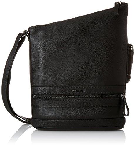 Tamaris SMIRNE Crossbody Bag 1068999 Damen Umhängetaschen 22x30x7 cm (B x H x T), Schwarz (black 001)