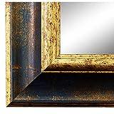 Online Galerie Bingold Spiegel Wandspiegel Blau Gold 70 x 90 cm - Antik, Barock, Vintage - Alle Größen - Made in Germany - AM - Acta 6,7