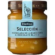 Helios Mermelada Extra de Albaricoque con Chocolate Blanco - 250 gr