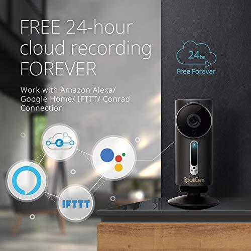 SpotCam 1080P Full-HD IP-Kamera / WLAN-Überwachungskamera Outdoor mit Smart Home Integration - 6