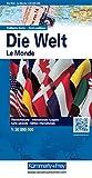 Kümmerly & Frey Karten, Die Welt, Politische Karte, 1 : 30 Mio. (Kümmerly+Frey Welt- und Kontinentkarten)