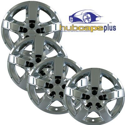 set-of-four-2008-2009-2010-chevrolet-malibu-style-17-inch-chrome-bolt-on-hubcaps-wheel-covers-by-hub