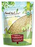 Granos de Trigo sarraceno orgánico, 1 Libra - sin cáscara, sin OGM, Kosher, crudo, vegano, a granel
