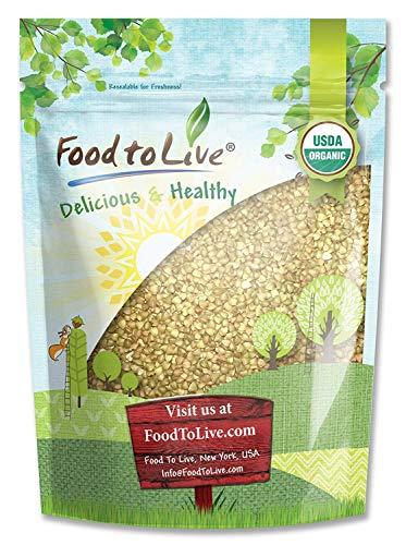 Bio Buchweizen grütze, 8 Unzen - geschält, Nicht-GVO, koscher, roh, vegan, Masse -