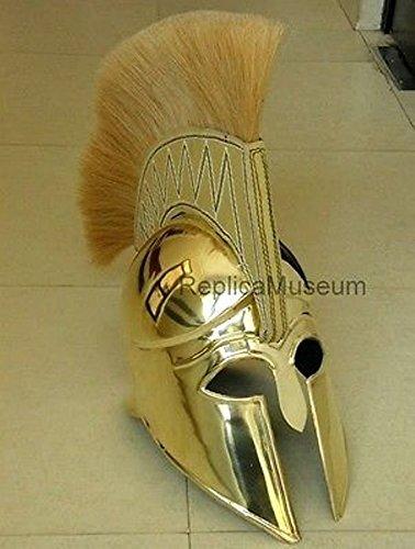messing-griechisch-corinthian-helm-armor-w-plume