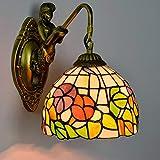 LL Wall Lamp Garden Creative Glass Lamps für Bar-Restaurant Bedroom Bedside Aisle Corridor Down Lighting,onehead,20x26cm