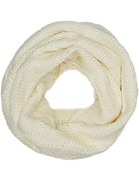 Tommy Hilfiger Damen Schal Chunky Knit Scarf, Elfenbein (Marshmallow 108), One Size