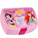 alles-meine.de GmbH Lunchbox / Brotdose - Disney Princess - Prinzessin - Brotbüchse - superleicht - Küche Essen für Mädchen - Kunststoff / Kinder Vesperdose - Brotzeitdose - ..